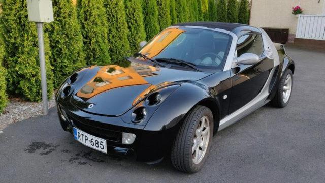 Smart Roadster etuviisto - Tori.fi