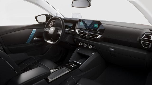 Citroën C4 interior