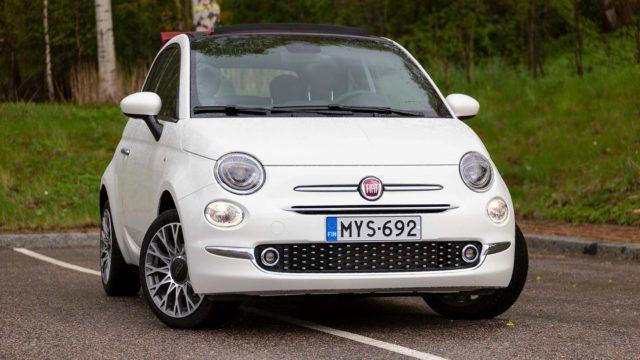 Koeajo: Fiat 500C -kevythybridi ei ole hinnalla pilattu, ja on parhaimmillaan aurinkoisessa kaupungissa