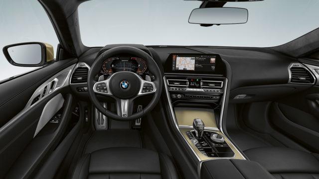 BMW 8-sarja Golden Thunder Edition interior