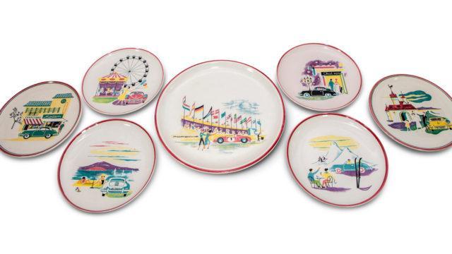 Porsche Ceramic Plates - RM Sotheby's