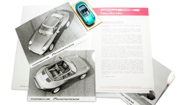 Porsche Panamericana IAA Press Kit - RM Sotheby's
