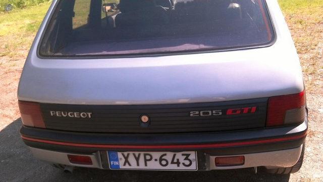 Peugeot 205 GTI 1.9 Kontti - Tori.fi
