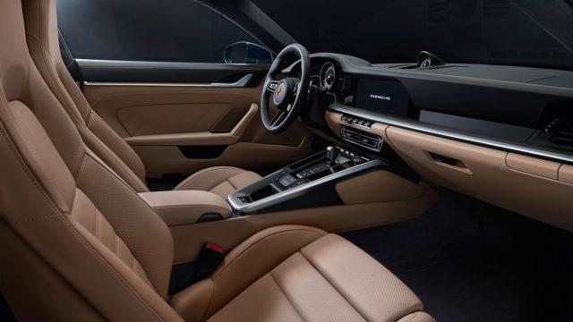 Porsche 911 Turbo interior - 992 Turbo