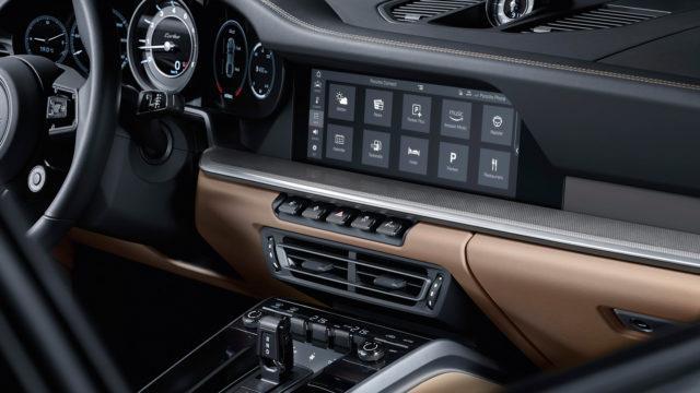 Porsche 911 Turbo console - 992 Turbo