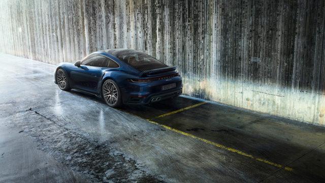 Porsche 911 Turbo rear - 992 Turbo
