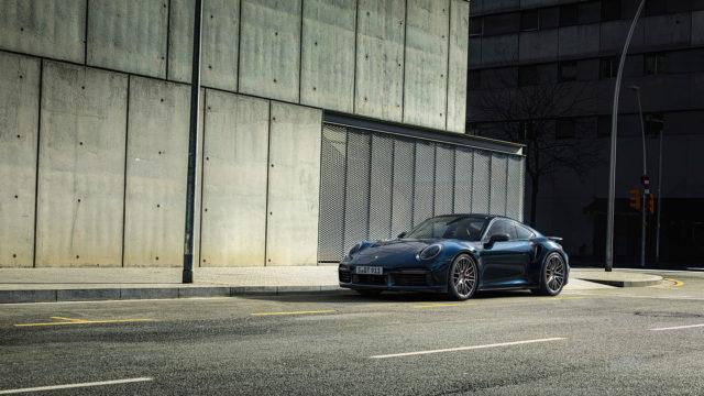 Porsche 911 Turbo front - 992 Turbo