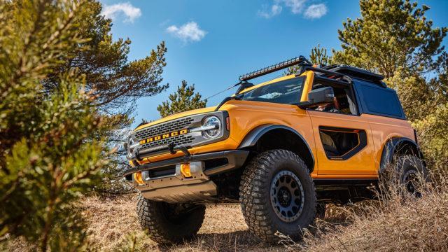 2021 Ford Bronco 2-door Exterior