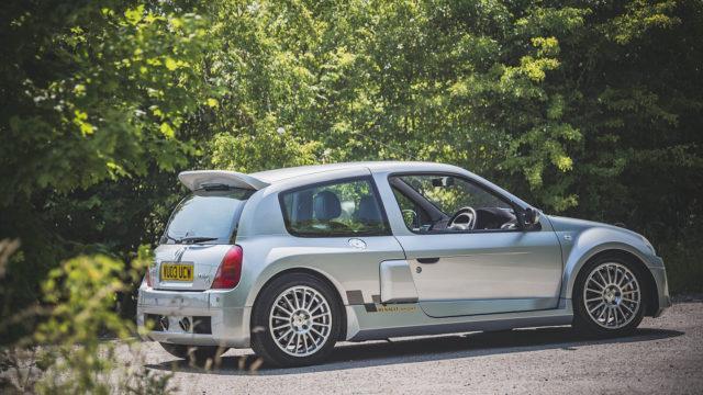 Renault Clio V6 Side - The Market