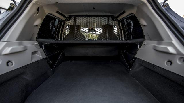 Renault Zoe Van 2020 - trunk