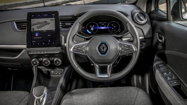 Renault Zoe Van 2020 - interior