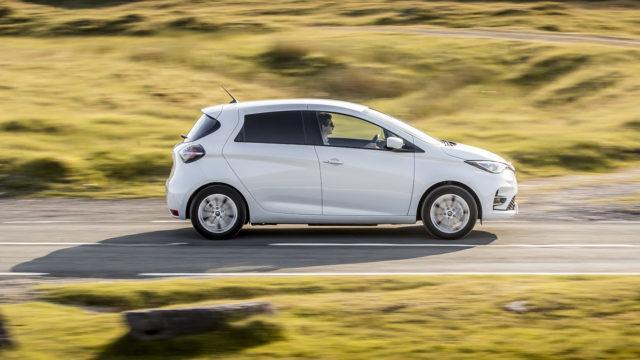 Renault Zoe Van 2020 - side