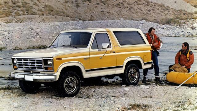 1982 3rd gen Ford Bronco XLT