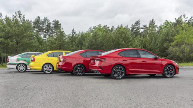Škoda Octavia RS historia