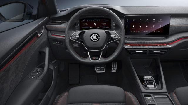 Škoda Octavia RS 2020 sisusta