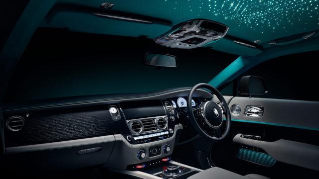 Rolls-Royce Wraith Kryptos interior