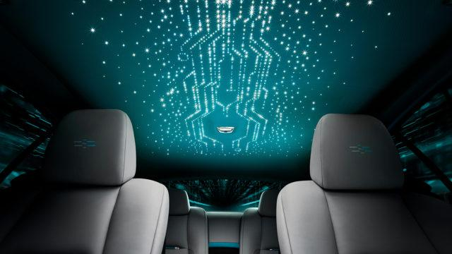 Rolls-Royce Wraith Kryptos roofline