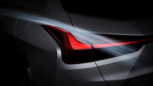 Lexus UX 300e taillight