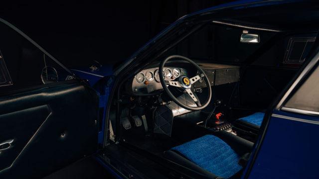 1971 Ferrari 365 GTB/4 Daytona Independent Competizione interior - RM Sotheby's