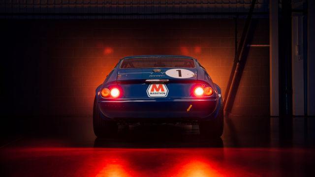 1971 Ferrari 365 GTB/4 Daytona Independent Competizione rear - RM Sotheby's