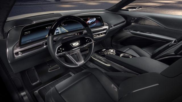 Cadillac Lyriq dash