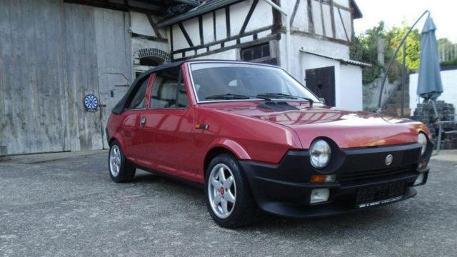 Fiat Ritmo 85 S Cabriolet etuoikea - Tori.fi