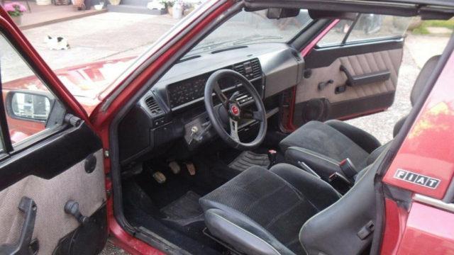 Fiat Ritmo 85 S Cabriolet ohjaamo - Tori.fi