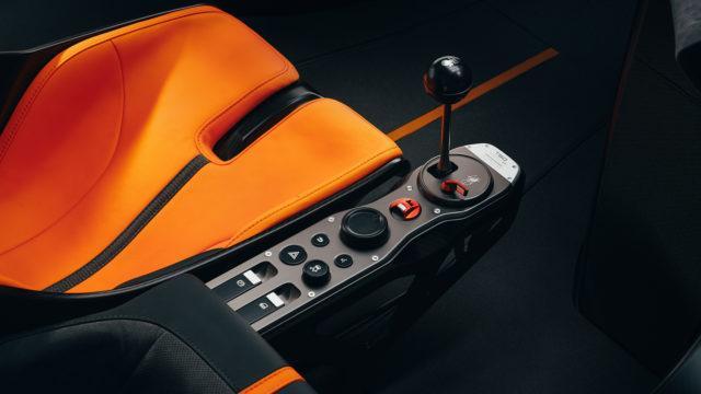 GMA T50 gear lever