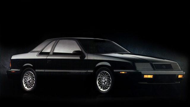 Chrysler LeBaron Coupe J-car