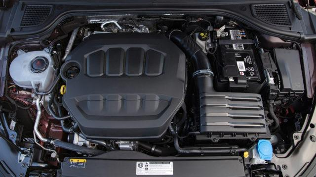 Golf GTi 8 engine