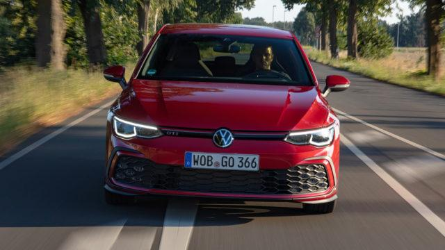 Golf GTi 8 front