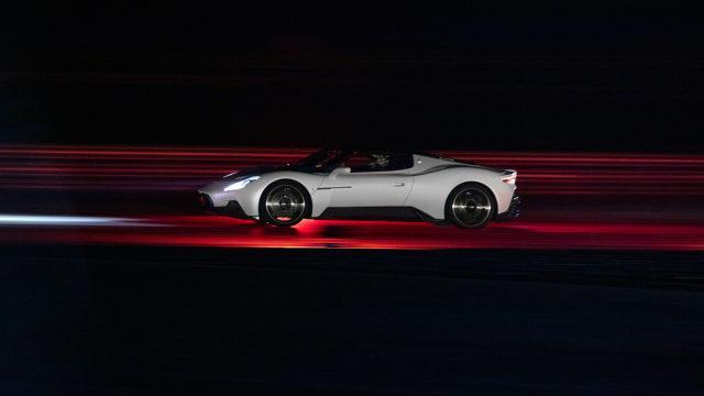 Maserati MC20 side