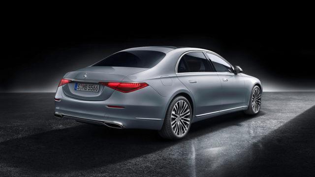 Mercedes-Benz S-Class, 2020, studio shot, exterior: hightech silver