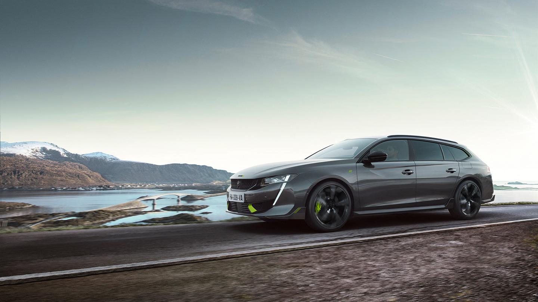 erikoismalli on tehokkain sarjatuotanto-Peugeot kautta aikain
