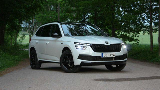Koeajo: Škoda Kamiq -crossoverin olemus nuorentuu Monte Carlo -sporttivarustelulla selvästi