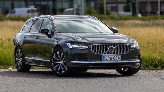 Koeajo: Volvo V90 sai kevythybridin, mutta mitä muuta parannettiin?