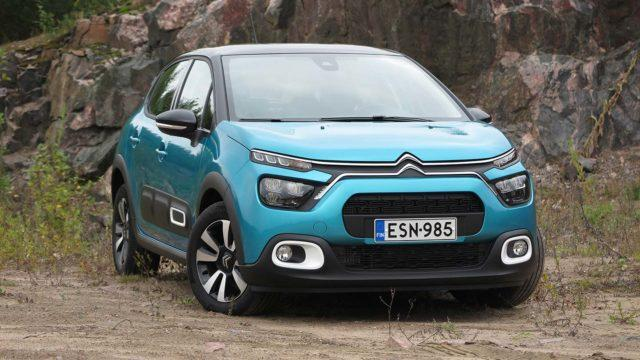 Koeajo: Citroën C3:ssa kohotettiin kasvojen lisäksi istuimet