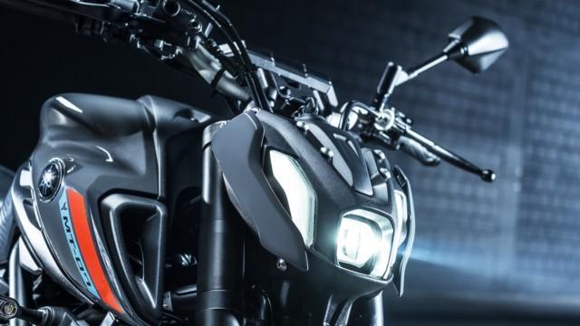 Yamaha MT-07 uudistuu