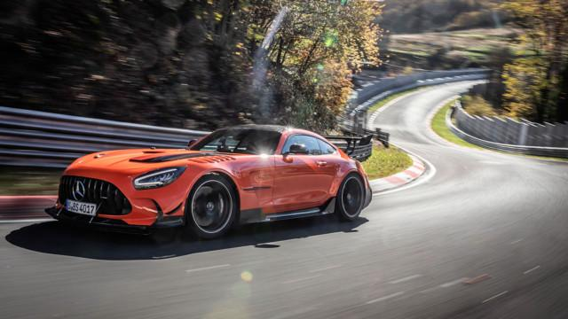 Mercedes-AMG GT Black Series 2020, Outdoor, Nürburgring Nordschleife, AMG magmabeam