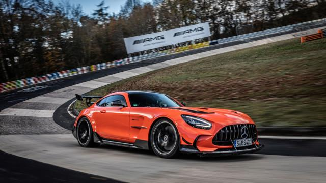 Mercedes-AMG GT Black Series Nürburgringillä 2020