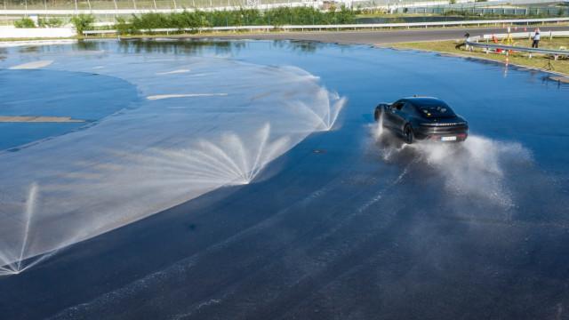 Porsche Taycan Drift World Record