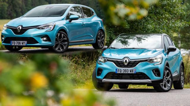 Koeajo: Lataushybridi Renault Captur E-Tech Plug-in ja täyshybridi Renault Clio E-Tech Hybrid