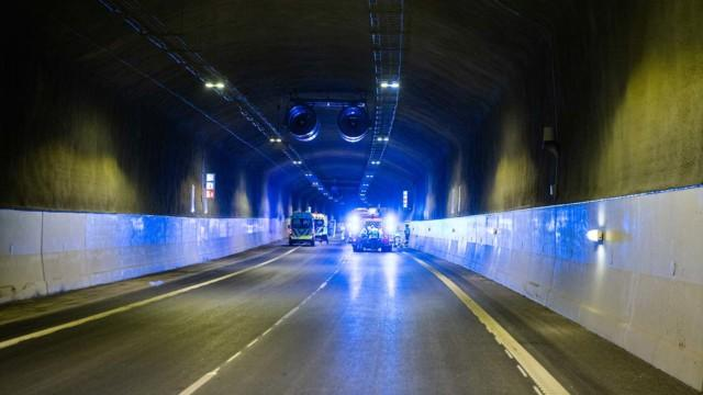 Liipolan tunneli pelastusharjoitus