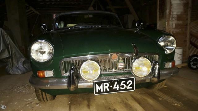 MG MGB Roadster - Tori.fi