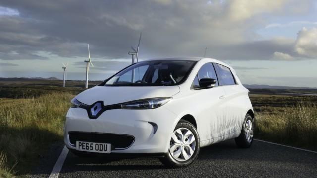 GTÜ pikkuautot Renault Zoe