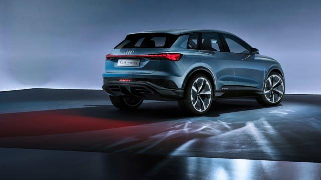 Audi Q4 e-tron konseptiauto ennakkovaraus