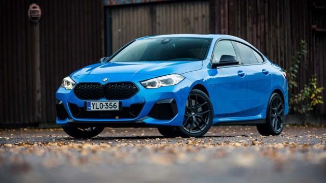 Koeajo: BMW M235i Gran Coupéa ajaessa merkki unohtuu, mutta ulkonäkö ei