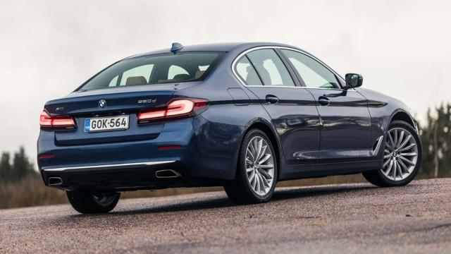 BMW 520d xDrive G30 facelift