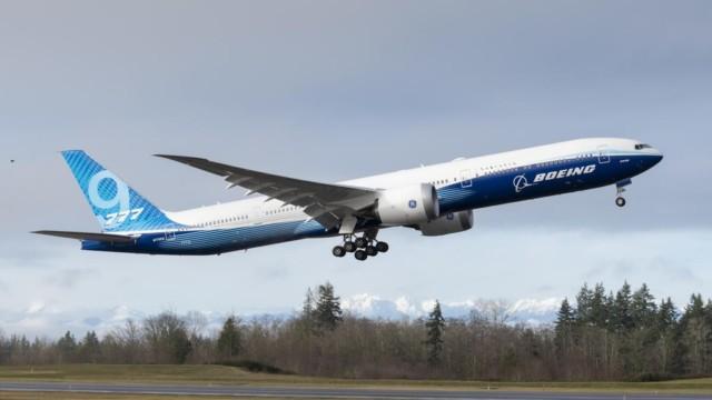 Boeing 777X luotijuna Japani JAL ANA