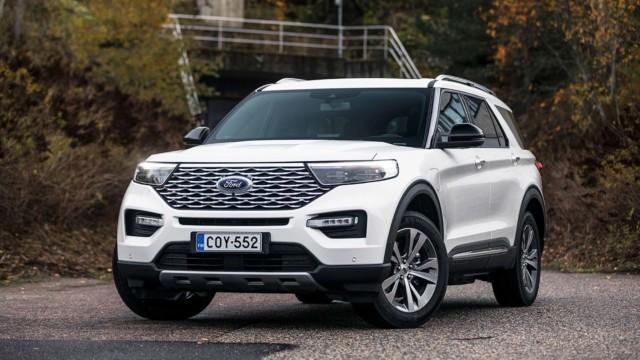 Koeajo: Ford Explorer on amerikkalainen unelma, joka kulkee ja kuluttaa